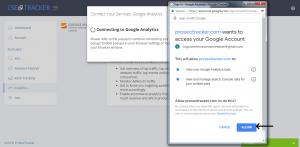 Connect Google Service Step 3